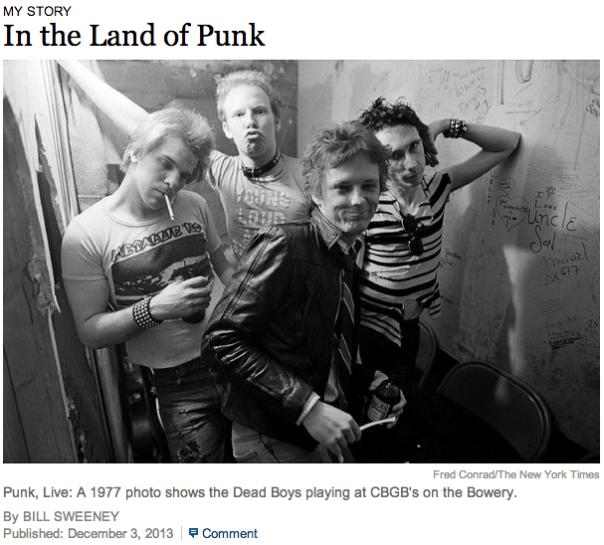 CBGB & Me, Me, Me, Me